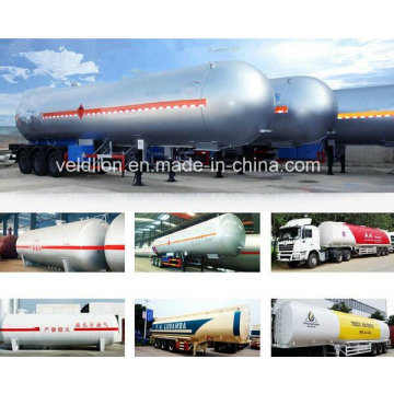 60m3 Tri-Axle Liquid Propane Gas LPG Trailer