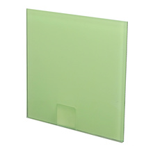 factory price 5mm tempered back painted glass for wall stained glass