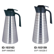 304 Stainless Steel Vacuum Insulated Coffee Jug Thermal Jug for Horeca Svp-1000zb-E