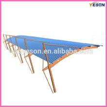 Hoja de metal para techos / sistema de hojas para techos / material para techos
