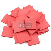Красные керамические блоки для мозаичных проектов