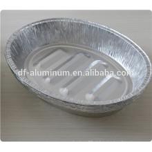 Panela de assar doméstica, recipiente de comida estocado à venda
