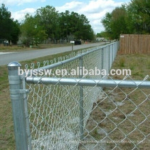 Galvanized Chain Link Fence Price Made in China