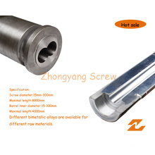 Hardware Bimetallic Parallel Twin Screws