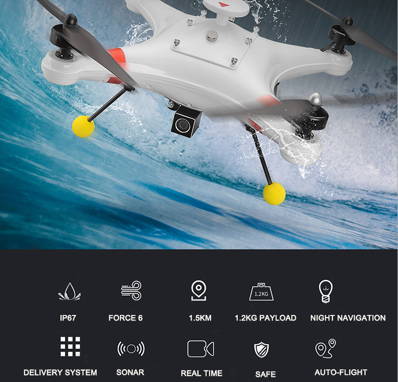 RC Fishing Drone