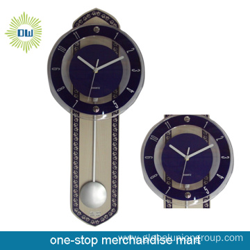 Decorative Mechanical Metal Wall Clock