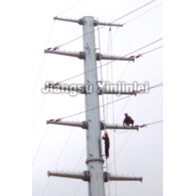 220kV Galvanized Steel Tapered Power Pole
