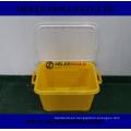 Herramienta Plastik para moldeo de cajas de contenedores