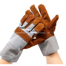 Europe Welding Working Leather Protecting Safety Gloves