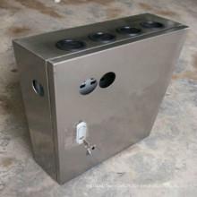 Boîte de jonction en métal brut