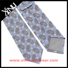 Chinese Manufacturer Men Handsome Designer Brown Paisley Ties