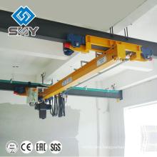 I beam traveling single girder underhung bridge crane