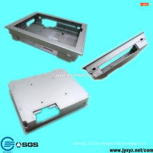 Shenzhen oem muere fundición de aleación de aluminio marco de metal de construcción