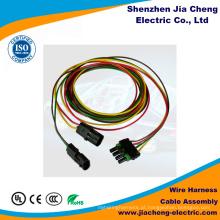 Aprovado UL de alta qualidade do Ce de RoHS do conjunto de cabo de 0.5mm 0.8mm 1mm