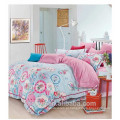 Flower piano designs cama conjunto edredão conjunto casa têxtil algodão reativa imprimir