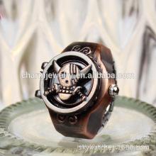 2016 Art und Weise späteste Ring Uhr Punkring Uhr Tierfinger Ring Uhr Großhandel Produkt JZB012