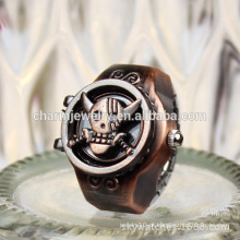 2016 moda mais recente anel relógio punk anel relógio animal anel de dedo anelar atacado produto JZB012