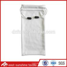Bolsa OEM de microfibra personalizada para la bolsa de gafas