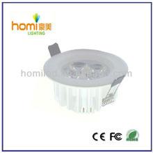 calidad techo luz blanca impresión de aluminio