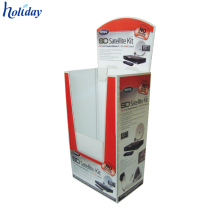 Contenedor plegable de cubo de almacenamiento de cubo de cartón reciclable