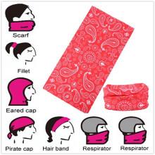 Custom Design Microfiber Seamless Buff Style Multifunktionale Magic Neck Tube Buff Headwear