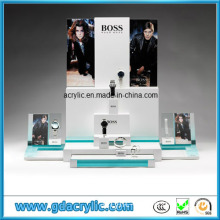 China Extravagant Customized Acrylic Watch Stand in Boss Brand