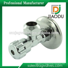 Китайский manufactuer cw617n OEM точность cnc желтый металл ручка туалет медь латунь остановить стиль угловой клапан с гайкой