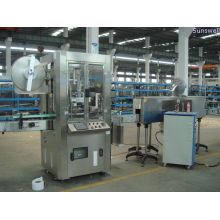 3kw Round Bottle Label Sleeving & Shrinking Machine / Machinery For Food And Beverage