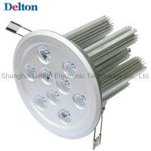 9W redondea la luz de techo modificada para requisitos particulares de Dimmable LED (DT-TH-9A)