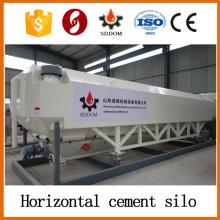Silo horizontal de ciment de 35 tonnes, silo de ciment horizontale à conteneur 40HQ