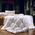 Quilt seam 100% white duck down extra thick feather quilt duck filling Drilling pile