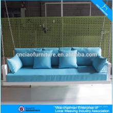 Mobília ao ar livre de alumínio pendurado balanço cama