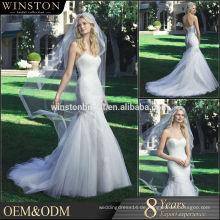 Bester verkaufenhülse, der Ballkleid wulstiges marokkanisches Hochzeitskleid bördelt