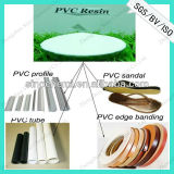 Excellent Plastic Raw Material White Powder PVC Resin K67