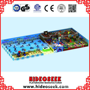 Pirate Ship Theme Indoor Playground Solution for Recreation Center