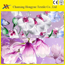 mircofiber polyester brused fabric pigment printed weaving fabric for home textile,school bag,market with 70gsm