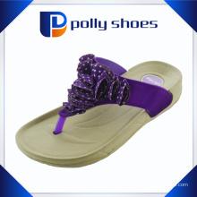 Bequemer breiter Gurt für Mädchen High Heel Slipper