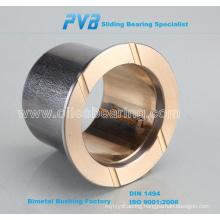 Bimetal Lead-Free Plain Bearings,flanged composite bushing