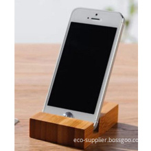 Waterproof Bamboo Mobile Phone Stand Holder for iPhone 5s