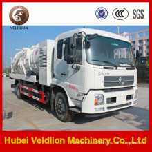 Berufszufuhr-Vakuum-fäkaler Saugkraftwagen / Abwasser-Saugwagen mit Behälter 12000L