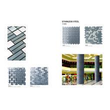 Mosaico de Cristal y Acero