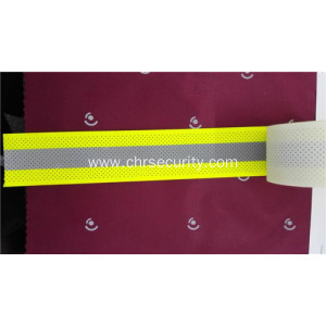 Breathable yellow flame retardant reflective cloth