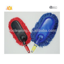 blue cotton car duster, car duster