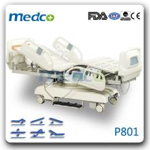 P801 Icu room electric hospital bed