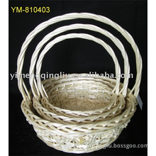 willow woven basket