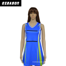 Wholesale Polyester / Spandex Sublimation Custom Design Fashion Design Netball Dress