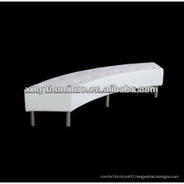 Artificial leather Slim Curved Ottoman XW1019