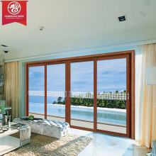 Factory Custom Sliding Aluminium Windows, Simple Design French Style Storm Window                                                                         Quality Choice