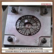 white plastic bobbin mould