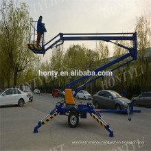 Factory Direct Towable Mounted Articulating Boom Lift For Sale  small boom lifts introduction
